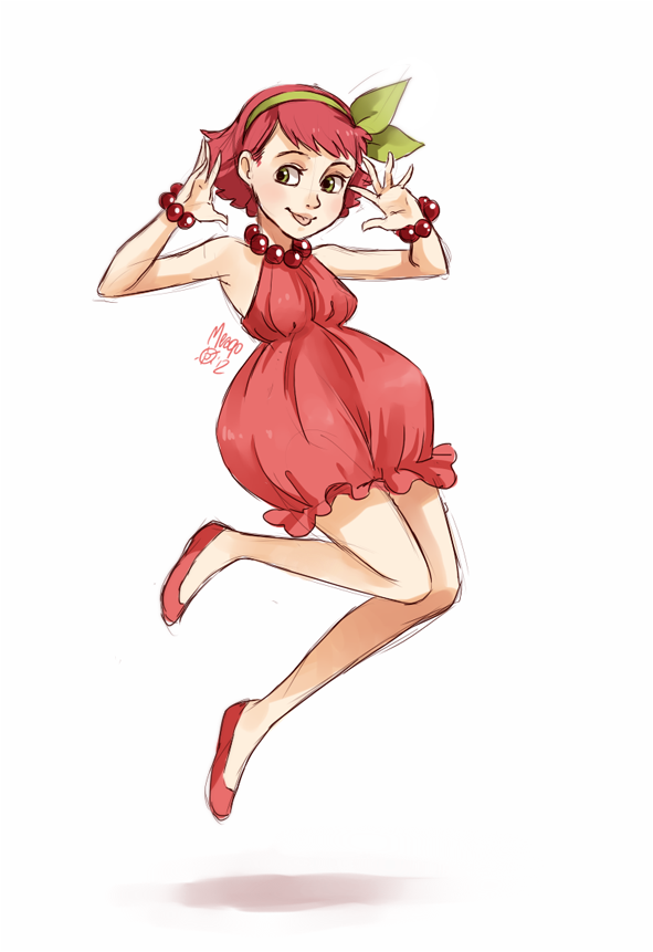 Raspberry Fullbody By Meago On Deviantart