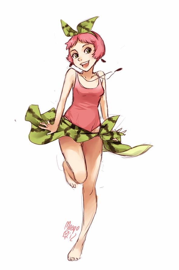 watermelon fullbody by meago