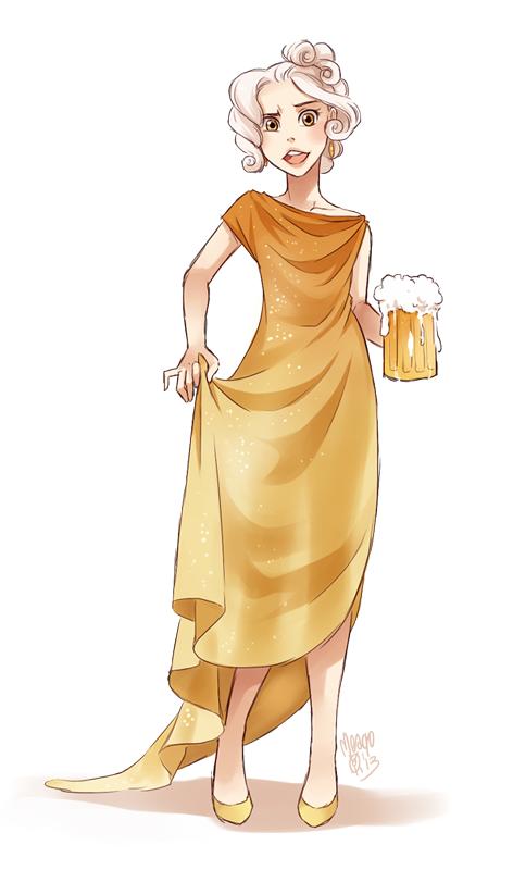 beer fullbody by meago