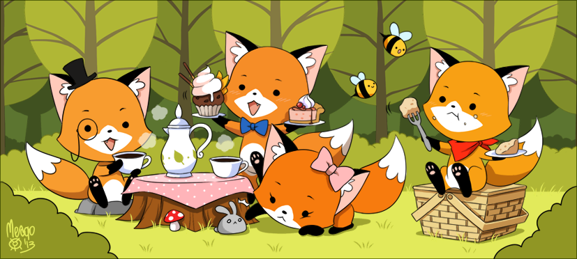 tea party by meago