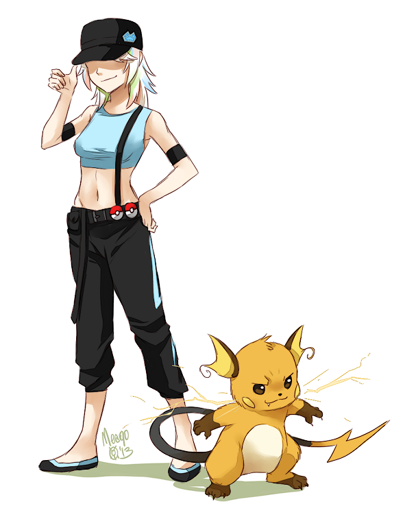 Opal and Raichu by meago