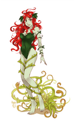 Poison ivy by meago