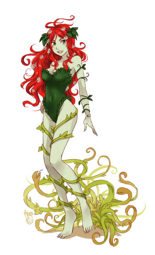 Poison ivy by meago on DeviantArt