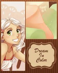 dream in color - artbook preview