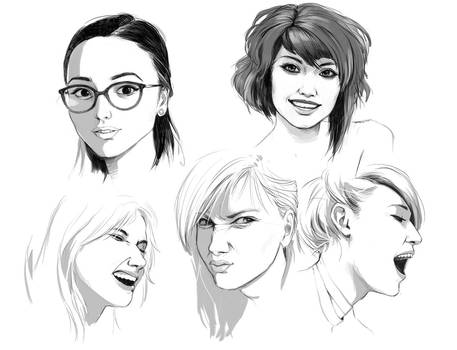 Face practise II