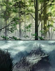 fantasy enviro by meago