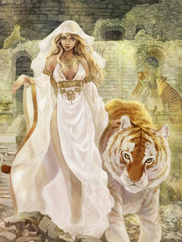 Mother of tigers