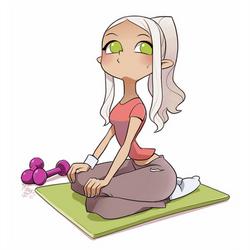 cartoon Mina