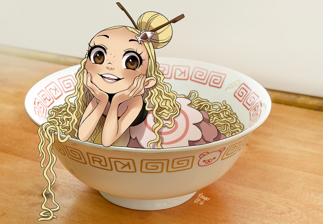Bowl with Ramen by meago