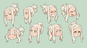 Mina faces
