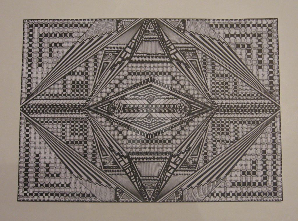 zentangle 6 by Kytoma
