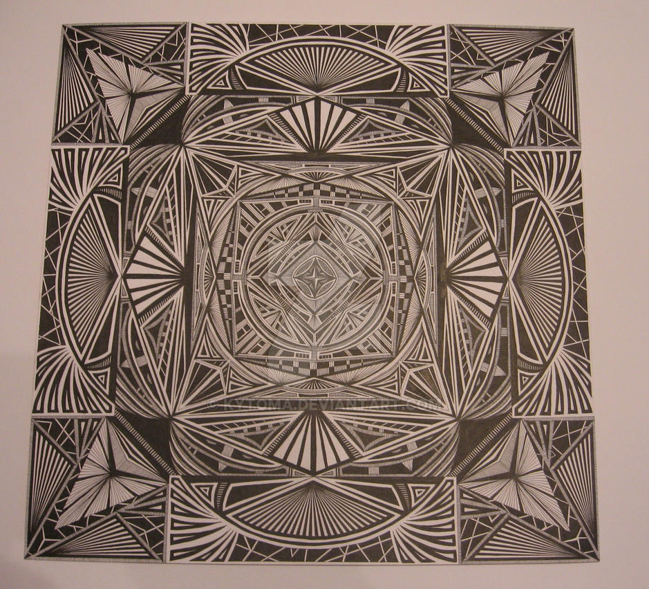 zentangle 8 by Kytoma