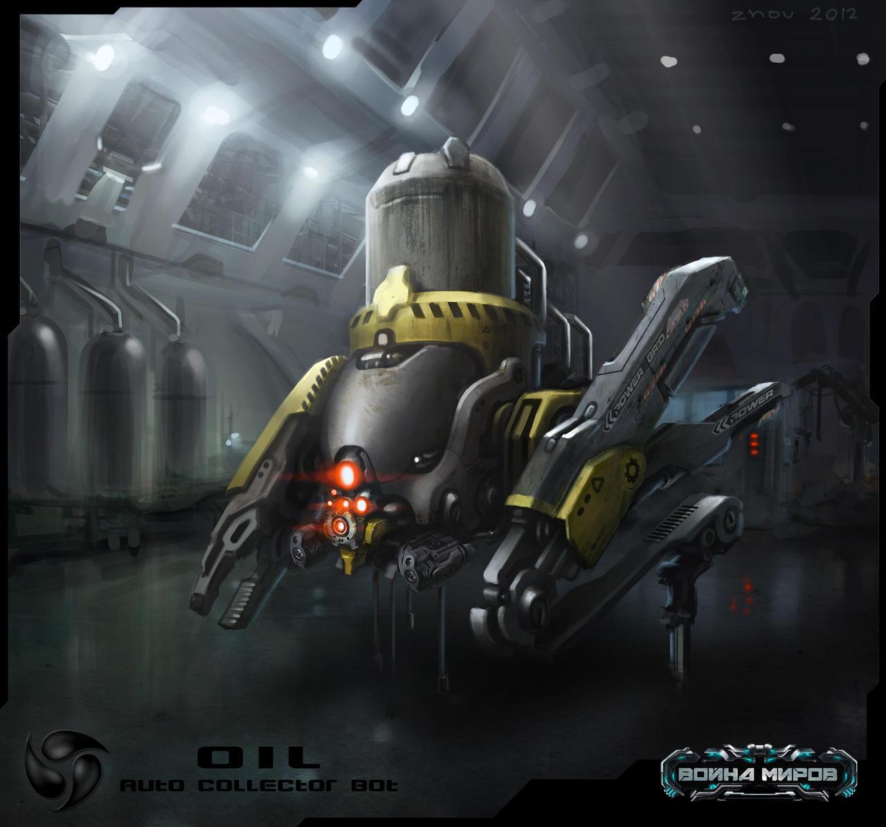 OIL AUTO COLLECTOR by Igor-Zhovtovsky