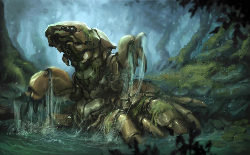 Swamp Kwaller by Igor-Zhovtovsky