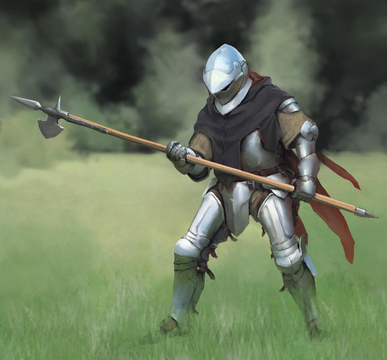 Knight_01 by Igor-Zhovtovsky