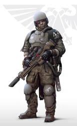Imperial army Auxiliary by Igor-Zhovtovsky