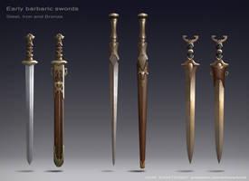 Barbaric swords