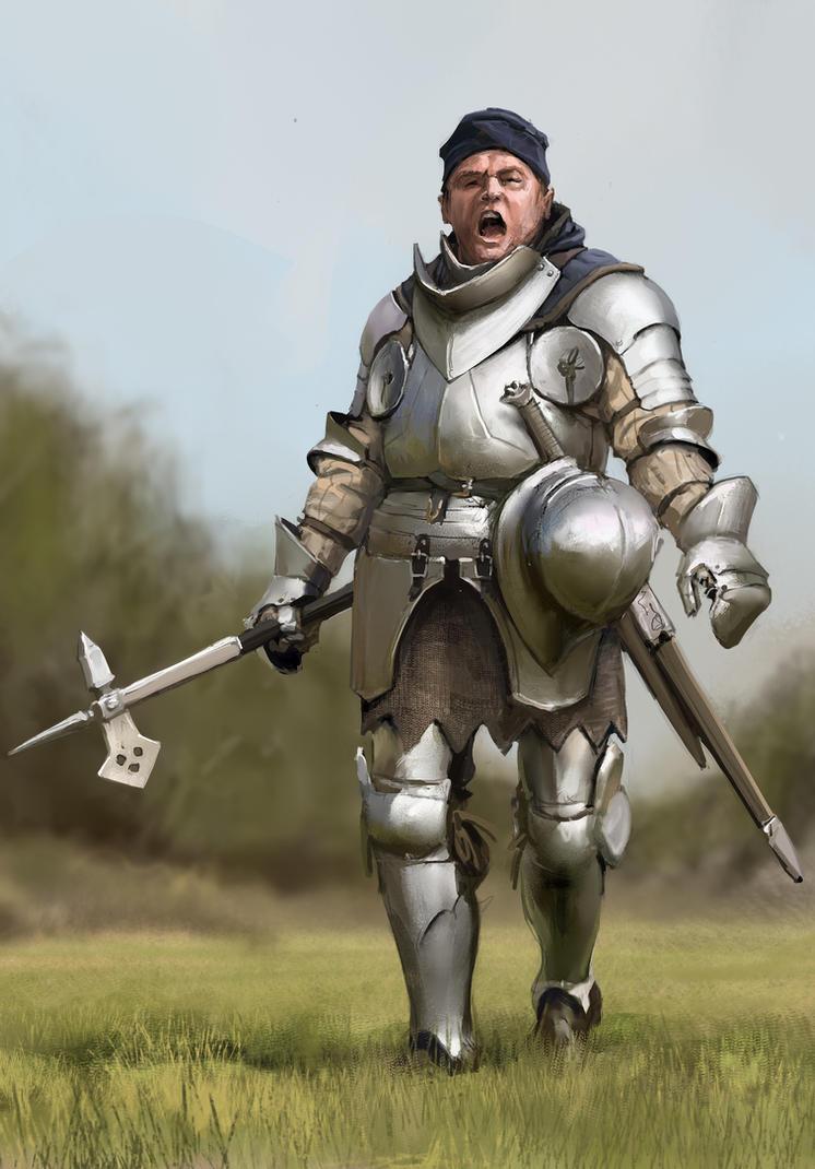 Armor studie by Igor-Zhovtovsky