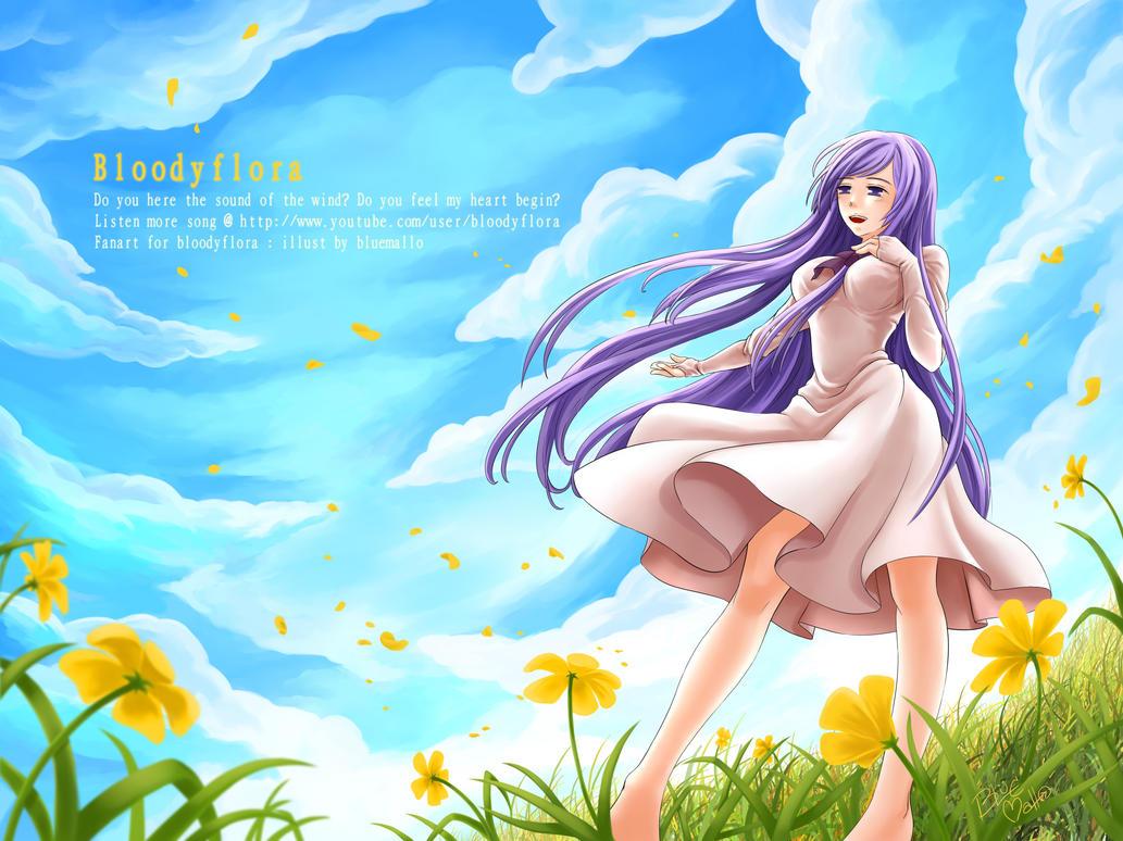 Wind Melody by bluemallo