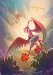 Harpy by bluemallo