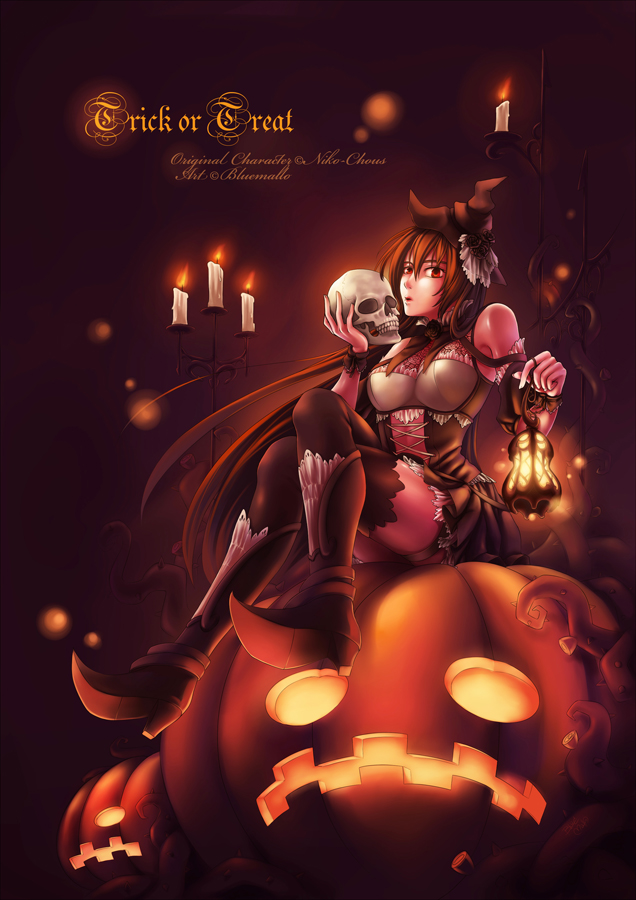 Trick or Treat by bluemallo