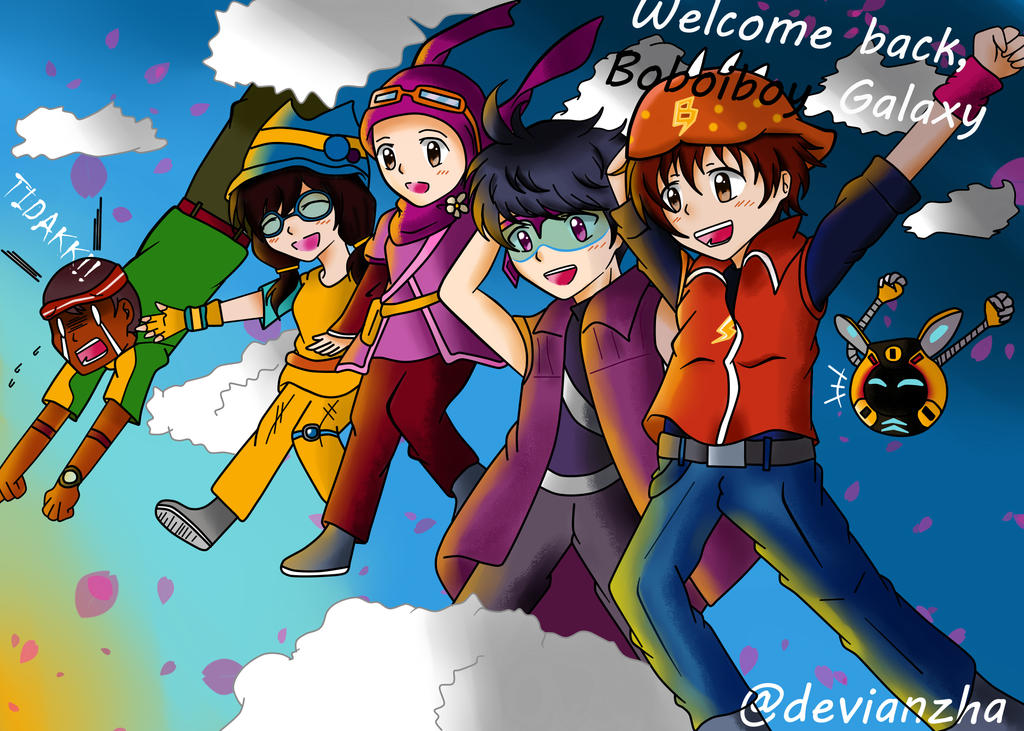 Event Boboiboy Galaxy by Devianzha