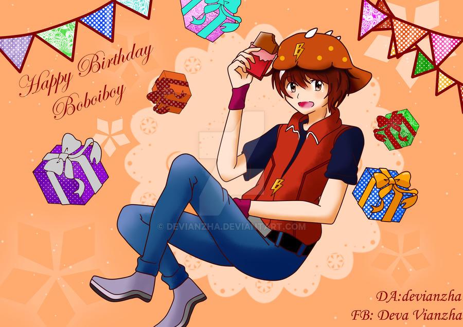 Happy Birthday Boboiboy by Devianzha