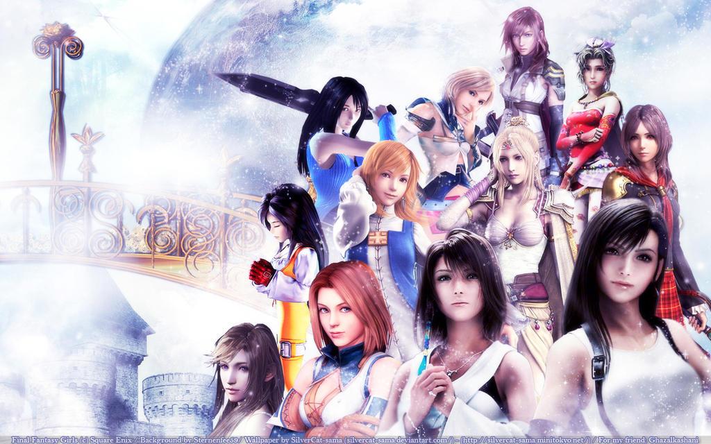 Final Fantasy Girls by SilverCat-sama