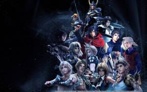Final Fantasy Boys by SilverCat-sama