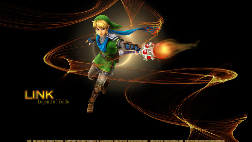 Link's magic rod by SilverCat-sama