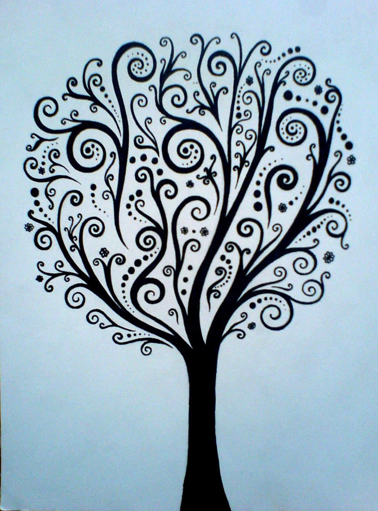 Abstract tree by diana-0421 on DeviantArt