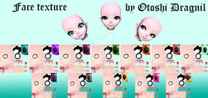 {MMD} - TDA Face texture - Download!)
