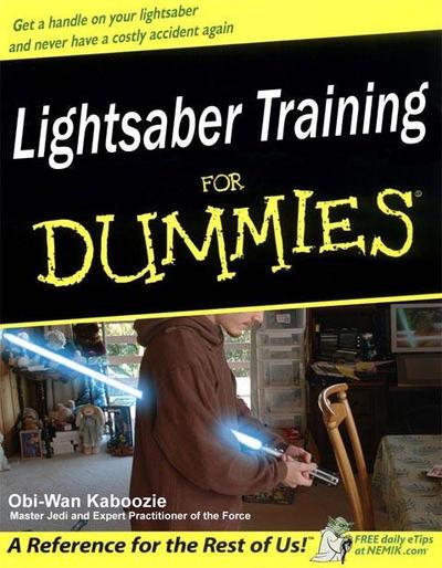 Lightsaber Training For Dummie by nemik