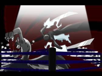 AFL: Vs Takerou by theshadowranger