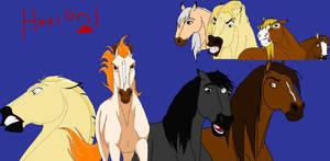 Hetioni horse style