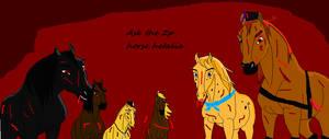 Ask 2p Horse Hetalia