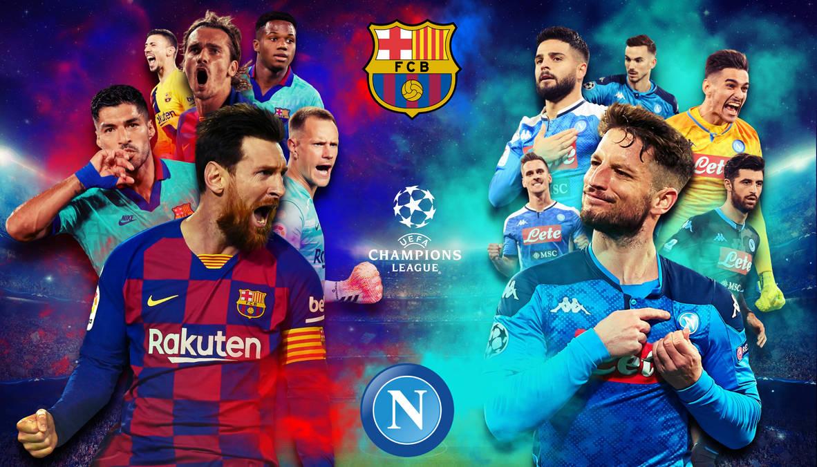 Fc Barcelona V Napoli Edit Wallpaper Hd By Fabian1rivera On Deviantart