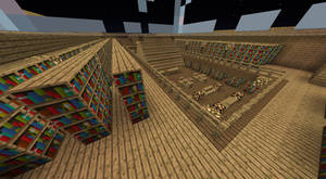 My Minecraft Library by Bestestcat
