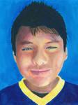 Acrylic Portrait by Bestestcat