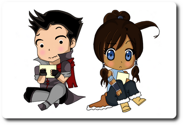 Chibi Makorra - FanArt? by chromeknickers