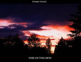 Stormy Sunset by doglover43
