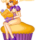 Muffin Reads by cutieq