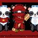 Saucey Panda by cutieq