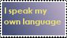 Own Language by Yuaikai8