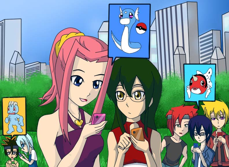 Pokemon Go by Yuaikai8