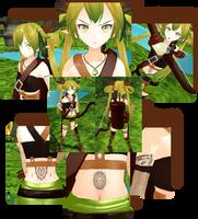 MOTME: Elven Archer Fayren with DL by Moegiiro