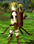 MMD Archery Set DL