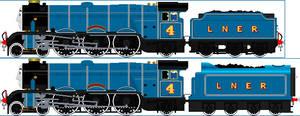LNER Blue Gordon