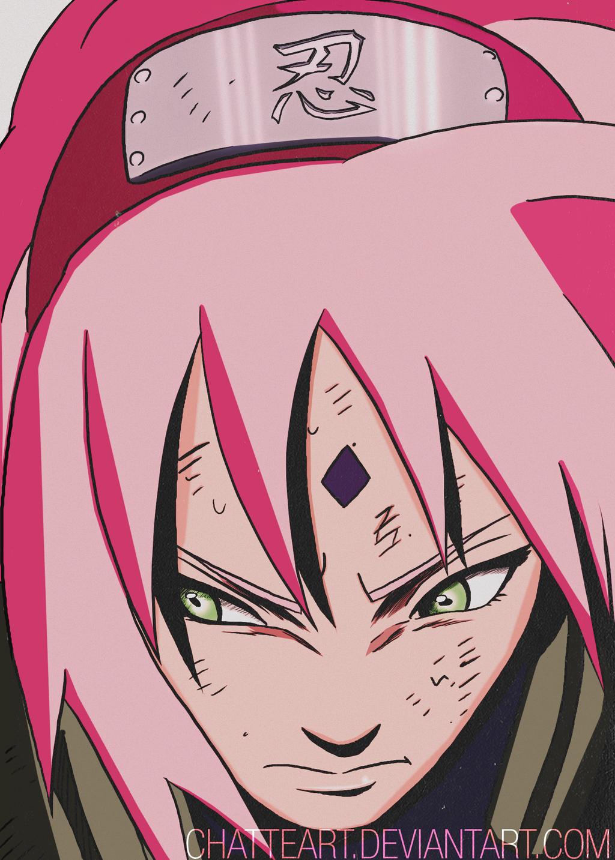 Sakura Haruno - Ch. 663 by ChatteArt