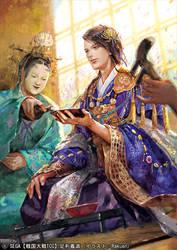 [SENGOKU TAISEN TCG] ASHIKAGA YOSHIMITSU by nethvn